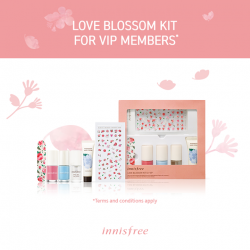 [Innisfree Singapore] Dear VIP members, the VIP Kit will be available for redemption from tomorrow!*Eligible VIP members can collect their kit