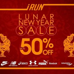 [I Run] CNY Sale starts today! This is the time to upgrade your running gear, visit all IRUN stores and enjoy GREAT