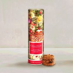 [Crabtree & Evelyn Singapore] Start your day on a sweet note with our All Butter Dark Chocolate Chunk & Hazelnut Biscuit, All Butter Christmas Pudding