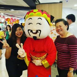 [THE SEAFOOD MARKET PLACE BY SONG FISH] Missed our 财神爷 at Chinatown point today? Catch him this Friday, 13th Jan at Chinatown point outlet between 12.30pm to