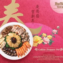 [Buffet Town] Usher in an auspicious year with all-you-can-eat-buffet which includes a wide selection of CNY dishes delightfully