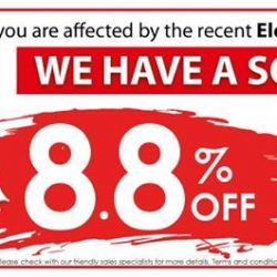 [Best Denki] Affected by the recent Electrolux Gas Hob recall? Fret not! Get 8.8% OFF All Gas Hobs! Plus, get Free
