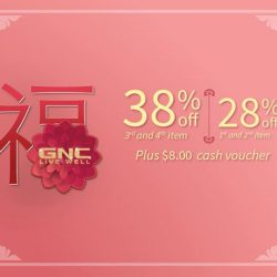 [GNC Live Well Singapore] Happy Lunar New Year! Enjoy 28% off 1st & 2nd item – shop now at http://bit.ly/2itrnAW & use code CNY28