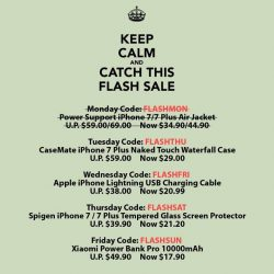 [Mobile Life] Are you the lucky customer of the day? First 10 customers get 50% OFF with promotion code: FLASHTUE https://goo.