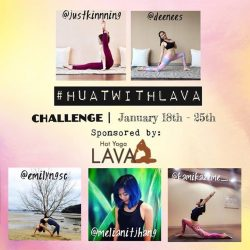[Lava Yoga] Let's restart our practice and fire up our core this Lunar New Year before we feast on those yummy