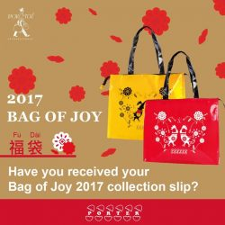 [Porter International] For those of you have purchased your Bag of Joy, do check your email for your Collection Slip. If you