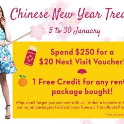 [Maternity Exchange] Enjoy our Chinese New Year Treats! From now till 30 January 2017. 🔸 Spend $250 for a $20 Next Visit Voucher! 🔸