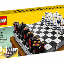 [The Brick Shop] LEGO® Iconic Chess Set - 40174Use classic LEGO® bricks to build your own chess board and then build all the