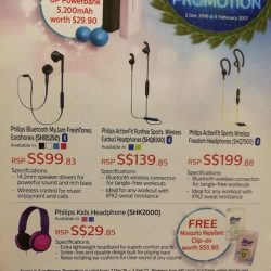 [E-Gadget Mini] Looking for wireless earpiece without paying a huge price? Opt for philips brand, promotion valid till 5Feb. Free power bank