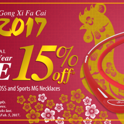 [Phiten Shop] Celebrate the Year of the Rooster with our special #ChineseNewYear Sale. The colour Red is believed to bring prosperity to