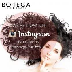 [BOTTEGA hair & beauty ] Hey guys we are now on Instagram! Follow us @bottega_hair.beauty for updates on hair styles, hair colors, possible new