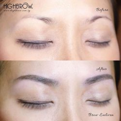 [Highbrow] Full Brows give a complete beautiful feature to enhance one's eye area. Brow Enliven achieves this objective as Highbrow