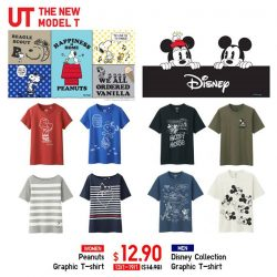 [Uniqlo Singapore] Enjoy these Limited Offers on the Disney and Peanuts UT Collections. Get a set for the whole family this Chinese