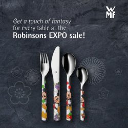 [WMF] Every child can dine in style with WMF at the Robinsons EXPO sale from 12 Jan – 22 Jan!Best buy: