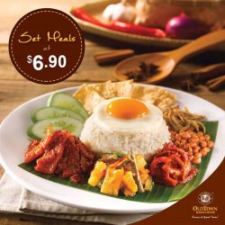[OLDTOWN White Coffee Singapore] It might be a new year, but some things are meant to remain the same. For instance, our Happy Lunch