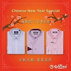 [Goldlion] New Year, New Look! Spice up your wardrobe with GOLDLION this Chinese New Year with our exclusive promotions. Check them