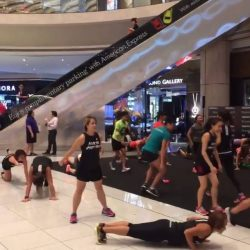 [Superdry] Remember how much fun we had at our HIIT class during our Superdry Sport event at Suntec City? #throwbackthursday
