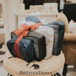 [BritishIndia] How do we keep our outfits here at BritishIndia crease free whilst travelling? We all know that one of the