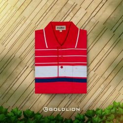 [Goldlion] A classic Polo Tee can work wonders for your wardrobe. With just the right amount of detailing, plain or stripes,