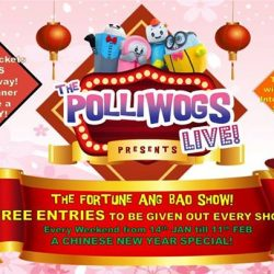 [The Polliwogs] Gong Xi Fa Cai! This Festive Season, The Polliwogs presents The Lucky Ang Bao Show!Join us for a session