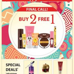 [Missha Singapore] Final 2 Days before we say goodbye to MISSHA LINE FRIENDS Edition :'(Don't miss out on this final sale