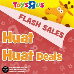 [Babies'R'Us] Huat ah! We've got Huat Huat Deals for you this Chinese New Year! Expect awwwesome offers from 27 Jan
