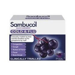 [Nichebabies] When the doctor is alittle hard to reach, pop Sambucol Black Elderberry Cold & Flu at the first onset of any