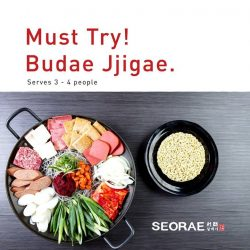 [SEORAE] Your lunch is going to be epic with Seorae! We have Budae Jjigae set for 2 or 4 pax. This