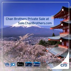 [Citibank ATM] Get new season preview offers at Chan Brothers PRIVATE SALE exclusively with your Citi Cards! 1-for-1 or up
