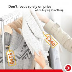 [OCBC ATM] While it's tempting to focus solely on the price, it's also important to think about value. For example,