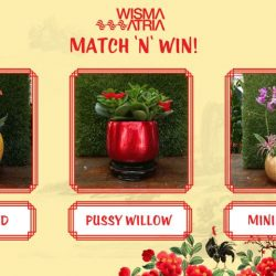 [Wisma Atria] Lunar New Year Contest: Match 'N' Win! 18 - 24 Jan 2017Wouldn't you love to have some Prosperity Blossoms?