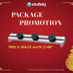 [Eubiq] CNY is around the corner. Bring home 1 set of e-track for reunion when you purchase any package. More