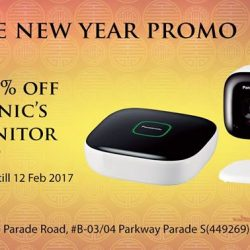[Polaris Apple] Secure your home this Chinese New Year and enjoy 10% off Panasonic's Baby Monitor Kit Promotion is valid from