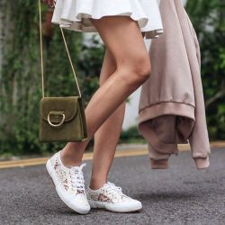 [Superga] NEW IN: Elegant yet laid-back macramé lace sneakers.Free 1-4 Days Delivery → http://bit.ly/2jh8vsG
