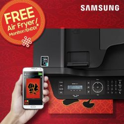[Samsung Singapore] Who doesn't love a good deal? Enjoy exclusive promotion freebies when you purchase selected Samsung printers this festive season!