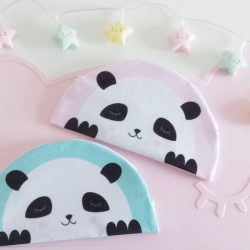 [PriviKids] Adorable panda pencil cases that can double as a clutch or makeup pouch. Ideal as gifts. #privikids #pencilcase #cute #panda #