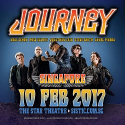 [foodpanda] We're giving away a FREE pair of tickets to JOURNEY live in Singapore!Don't Stop Believin'! Have you