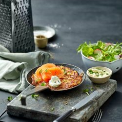 [Marché Mövenpick Singapore] Craving for the crispy Swiss Rösti topped with Smoked salmon? Skip the queue and select your pick up time