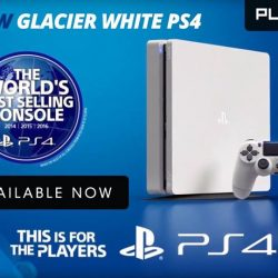 [GAME XTREME] Glacier White PS4 Slim 500GB consoles are now available at our outlets as well! What's more, it is eligible