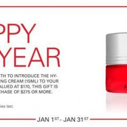 [3LAB] A new year calls for a new skincare regimen. Through the month of January, spend $275 or more and receive