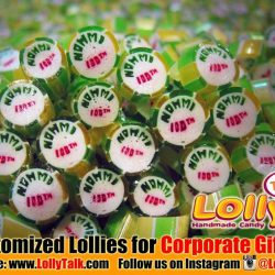 [Lolly Talk] LollyTalk's handcrafted lollies for corporate celebration of 100th Anniversary. Great idea for corporate cum marketing needs such as roadshow