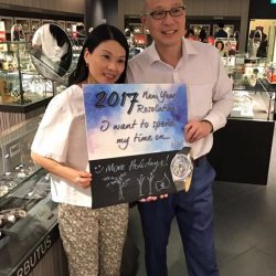 [Arbutus] Tell us your resolutions for 2017 with our Arbutus New Year's Resolutions Board at TANGS at Tang Plaza today!