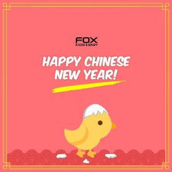 [Fox Fashion Singapore] Happy Chinese New Year from FOX! While you are feasting, don't forget to shop our CNY Promotion and stand