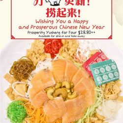 [PORN'S sexy.thai.food] Get more prosperous this Chinese New Year with Porn's Prosperity Yu Sheng! Lao your way to a huat huat