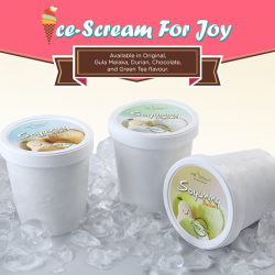 [Mr Bean Singapore] Beat the heat with Mr Bean's SOYummy ice-cream selections made with premium Japanese Soy Milk Cream. Definitely an