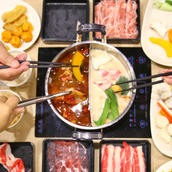 [Daessiksin Korean BBQ Buffet] Our sister concept DANRO has opened Japanese COLLAGEN Hot Pot BUFFET restaurant at Cathay Cineleisure Orchard basement!Prices From $15.