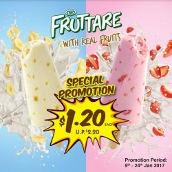[7-Eleven Singapore] Made from real fruits and going at a special promo price of just $1.20 (U. P$2.20). Beat