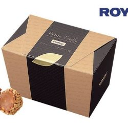 [Royce'] Give this Praline flavoured Petite Truffe a try. With this liquor-free soft ganache chocolate, it might just be the