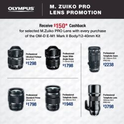 [Harvey Norman] Enjoy the latest #Olympus offers at a #HarveyNormanSG store near you! Or shop our range of #Olympus cameras online now @