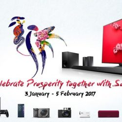 [Sony Singapore] Last week to enjoy our Chinese New Year promotion!Enjoy up to $2730 rebate* when you purchase selected products ranging